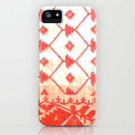 My mother's sari iPhone Case