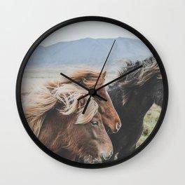 Thingeyrar, Iceland Wall Clock
