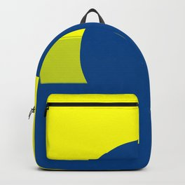Maize & Blue Abstract 2 Backpack