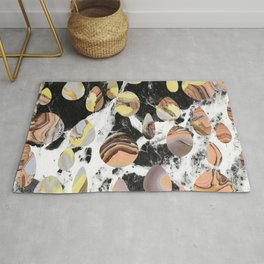 Marble cut out dots Rug