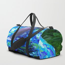 Conque turquoise Duffle Bag