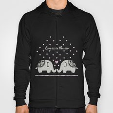 Love Elephants Hoody