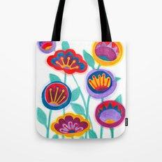 raw flower garden Tote Bag