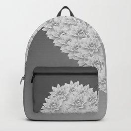 White heart Backpack