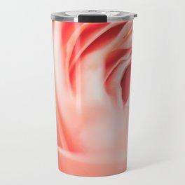 rose abstraction Travel Mug