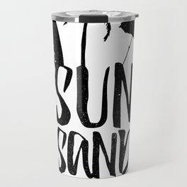 Sun Sand and Sea 2 Travel Mug