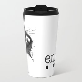 Ennui is one complicated emotion of a cat! Travel Mug