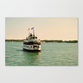 Toronto Island Ferry Canvas Print