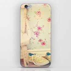 The Flower Girl iPhone & iPod Skin