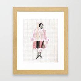 purse Framed Art Print
