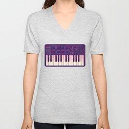 Neon MIDI Controller Unisex V-Neck