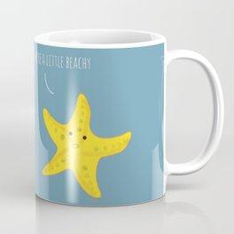 Starfish & seashell a little beachy Coffee Mug