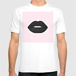 black lips T-shirt
