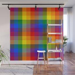 Pride Checkers 1 Wall Mural