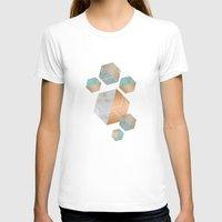 concrete T-shirts featuring Honeycomb Concrete by cafelab