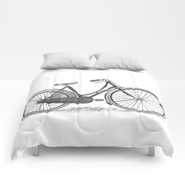 Bicycle 2 Comforters