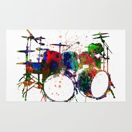 Drum Life Rug