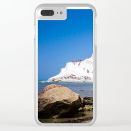Scala dei Turchi Clear iPhone Case