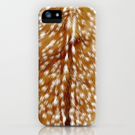 Fawn Print iPhone Case