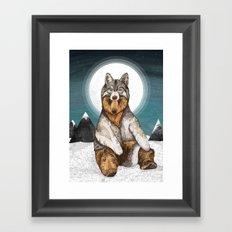 Wear Wolf Framed Art Print