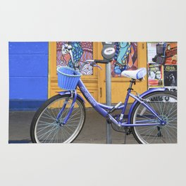 New Orleans Frenchman Bicycle Rug