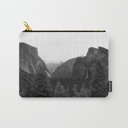 Tunnel View at Yosemite National Park Carry-All Pouch