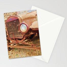 Hidden Old Rusty Treaure Stationery Cards
