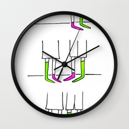 Matches made in heaven * Dio li fa e poi li accoppia Wall Clock