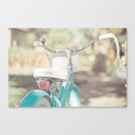 Little Bicycle Canvas Print
