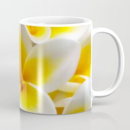 Frangipani halo of flowers Coffee Mug
