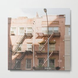 Corner of Light - NYC Photography Metal Print