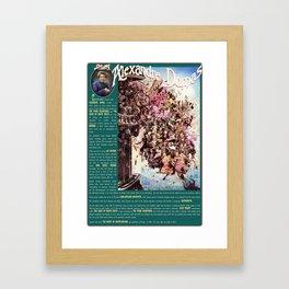 ALEXANDRE DUMAS Framed Art Print