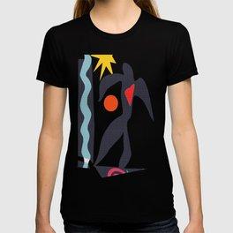 inspired to Matisse (black) T-shirt