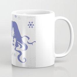 Vintage 70s Style Flower Power. Fashion Design Coffee Mug