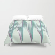 Zig Up, Zig Down Duvet Cover