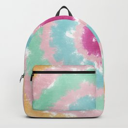 Girlish abstract round strokes Backpack