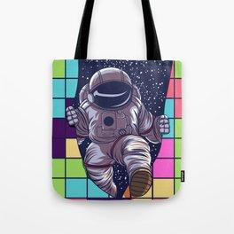 tetris space  by joejr  Tote Bag