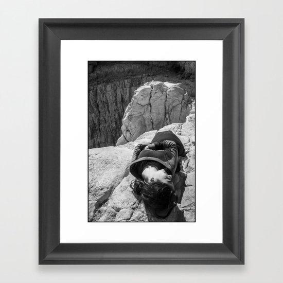 Resting Framed Art Print