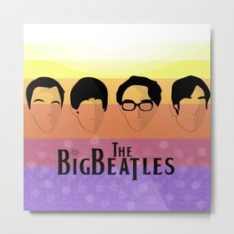 The Big Beatle Theory Metal Print