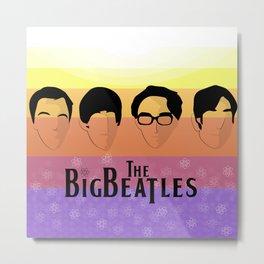 The Big Beatle Theory Metal Print