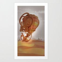 The Flying Machine Art Print