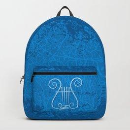 Blue Lyre Backpack