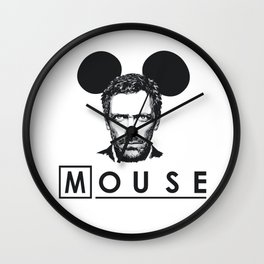 Gregory Mouse Wall Clock