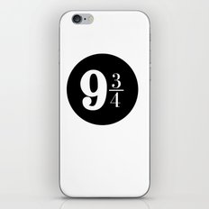 Platform 9 3/4 iPhone & iPod Skin