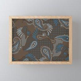 paisley DECO syndrone Framed Mini Art Print