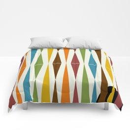 Mid-Century Modern Art 1.4 Comforters