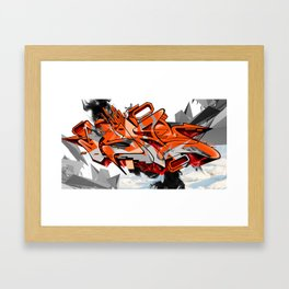 Arctic Heat Framed Art Print