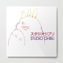 tororo studio ghibli Metal Print