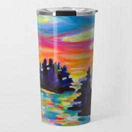 Landscape With Saucers Travel Mug