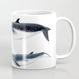 Bryde´s whale and baby whale Coffee Mug